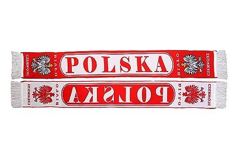 Auténtico Polonia Polska ovalado de fútbol bufanda ggDRDiNTO