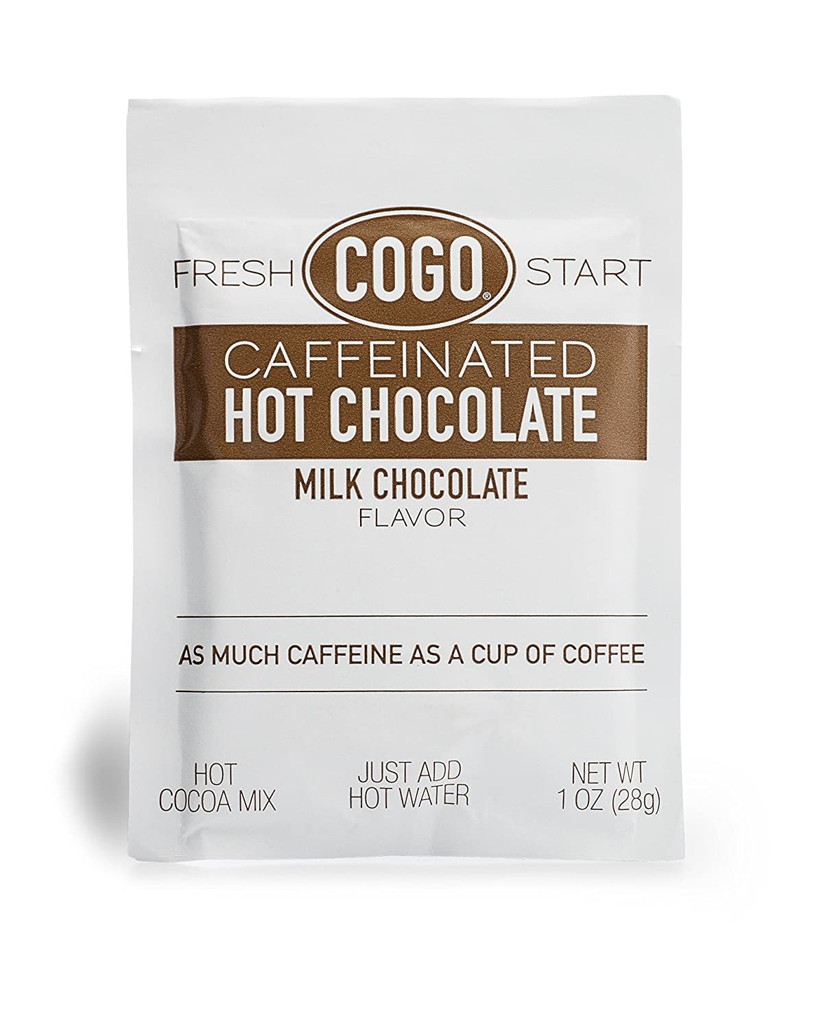 Amazon.com : COGO Caffeinated Hot Chocolate, 50 one ounce ...
