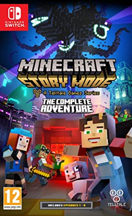 Beautiful Minecraft Story Mode The Complete Adventure (Nintendo Switch)