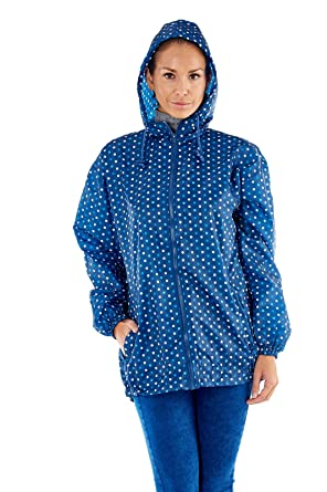 a74bb7d94 Ladies Proclimate Pack Away Kagoule Waterproof Coat In A Bag: Amazon.co.uk:  Clothing