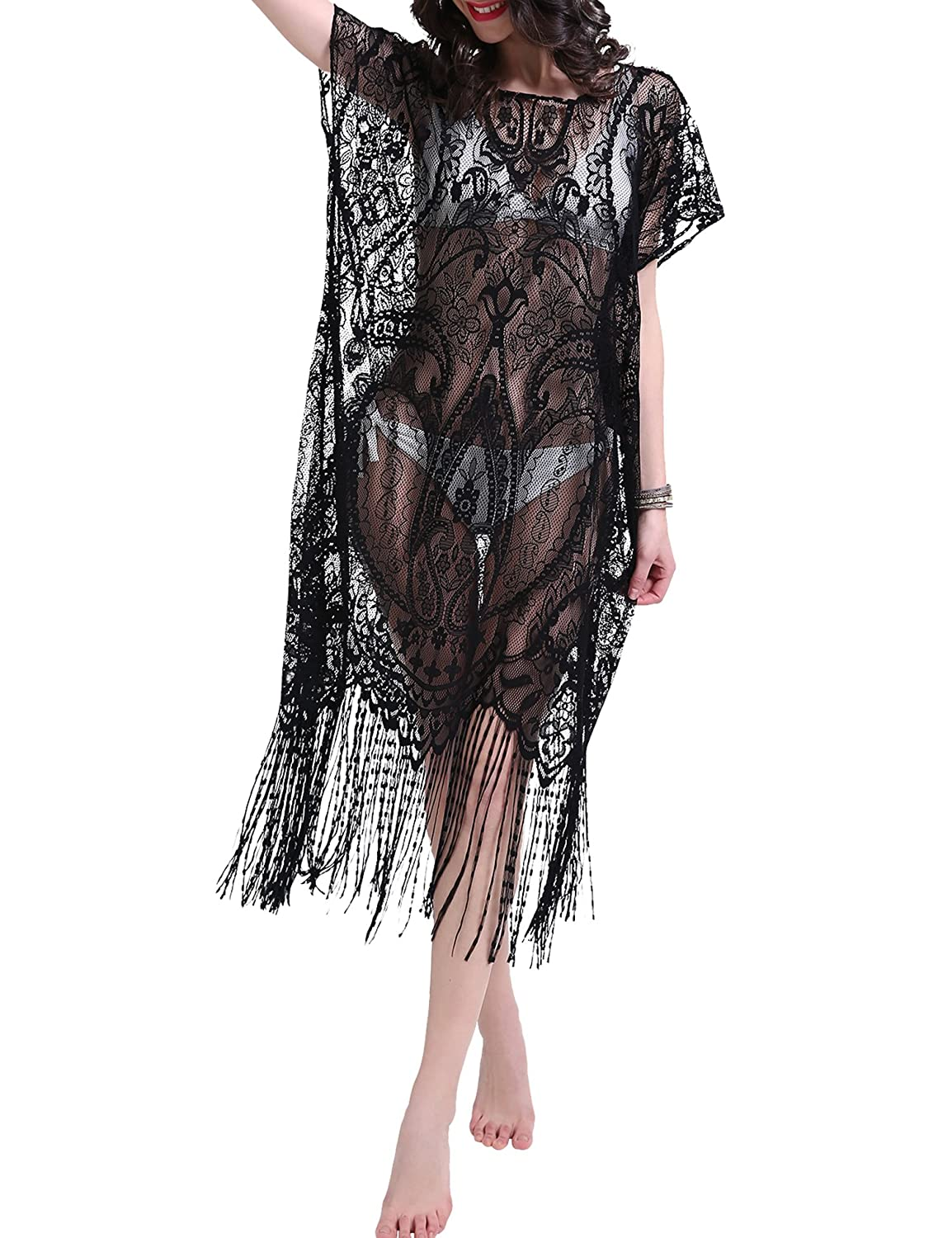 86e1837f90 Summer Beach Cover Up Long Dress