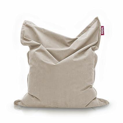 Amazoncom Fatboy The Original Stonewashed Bean Bag Silver Grey
