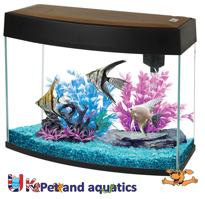 Fish R Fun FRF 440 Pano HD Black 20L Slim Aquarium Amazon