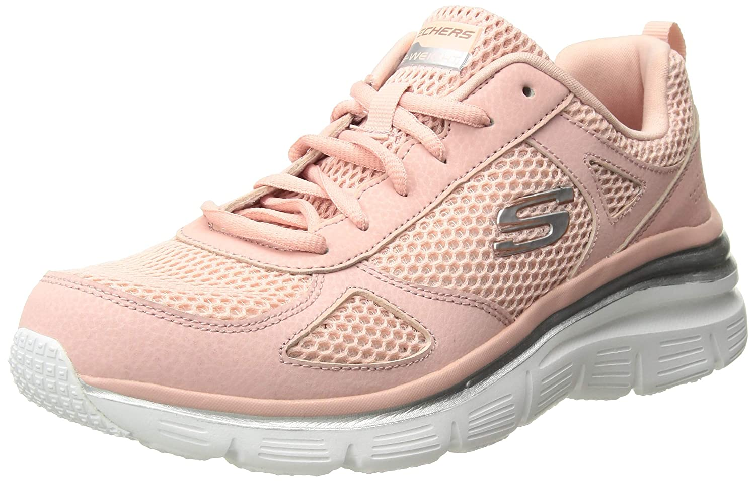 Pnk Skechers Women's Fashion FIT-Perfect Mate