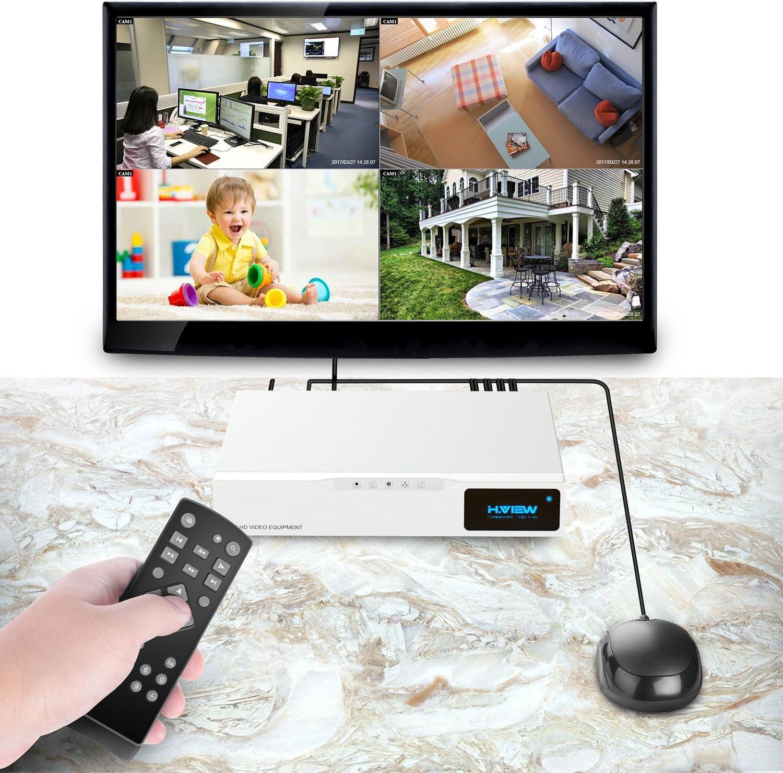 960H supporto video HDMI per Android e iPhone con 4 canali 720p rilevamento del movimento H.264 no telecamera HDD visualizzazione remota 1080N supporta telecamera 1080p H.View videoregistratore digitale ibrido a circuito chiuso