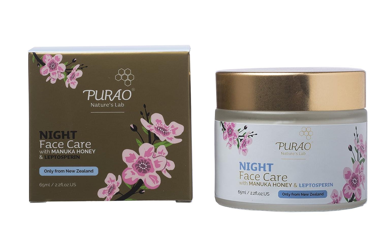 Natürliche Manuka Creme Gesichtsfeuchtigkeitscreme für den nacht mit Aktivem Manuka Honig Leftfield
