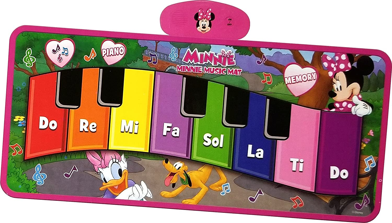 Amazon Disney Junior Minnie Music Mat Toys Games