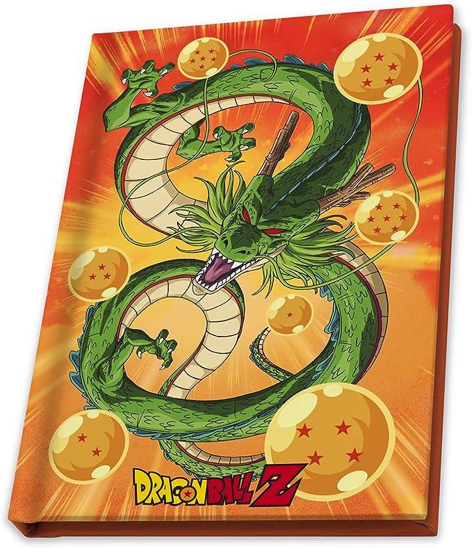 Abystyle - Caja de Regalo de Dragon Ball Z - Llavero, Taza y Cuaderno: Amazon.es: Juguetes y juegos