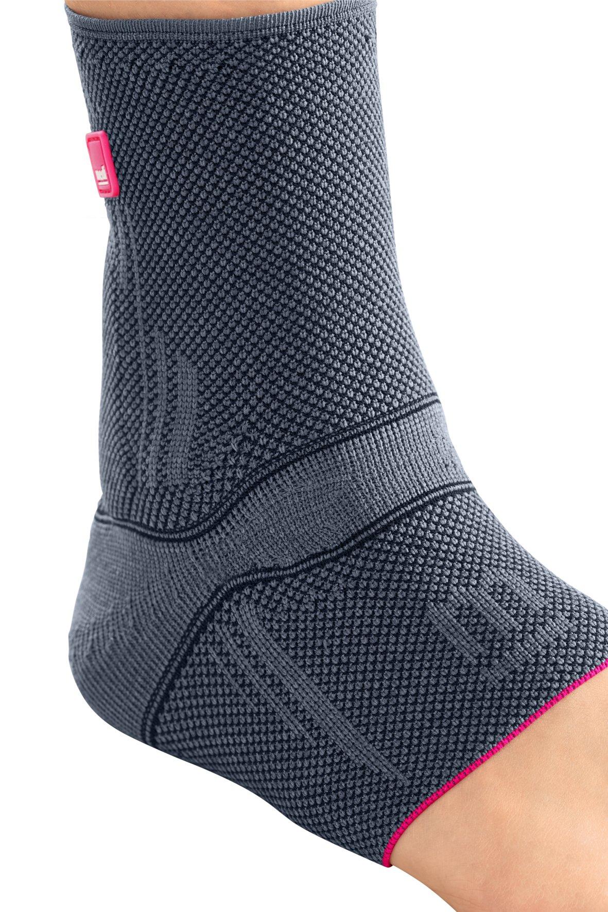 Medi Levamed Knit Ankle Support (Silver) Size V by Medi Ortho (Image #2)