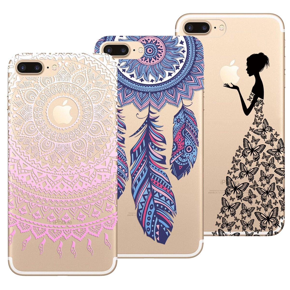 3 Pack Fiore Piuma - Farfalla Yokata Cover per iPhone X iPhone XS ...