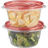 Rubbermaid TakeAlongs 3.2 Cup Small Bowls, Food Storage Container, 4 Pack