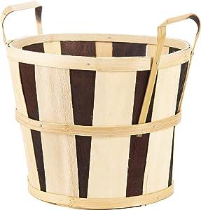 """Daricewood Mum Basket - Natural - 8"""""""