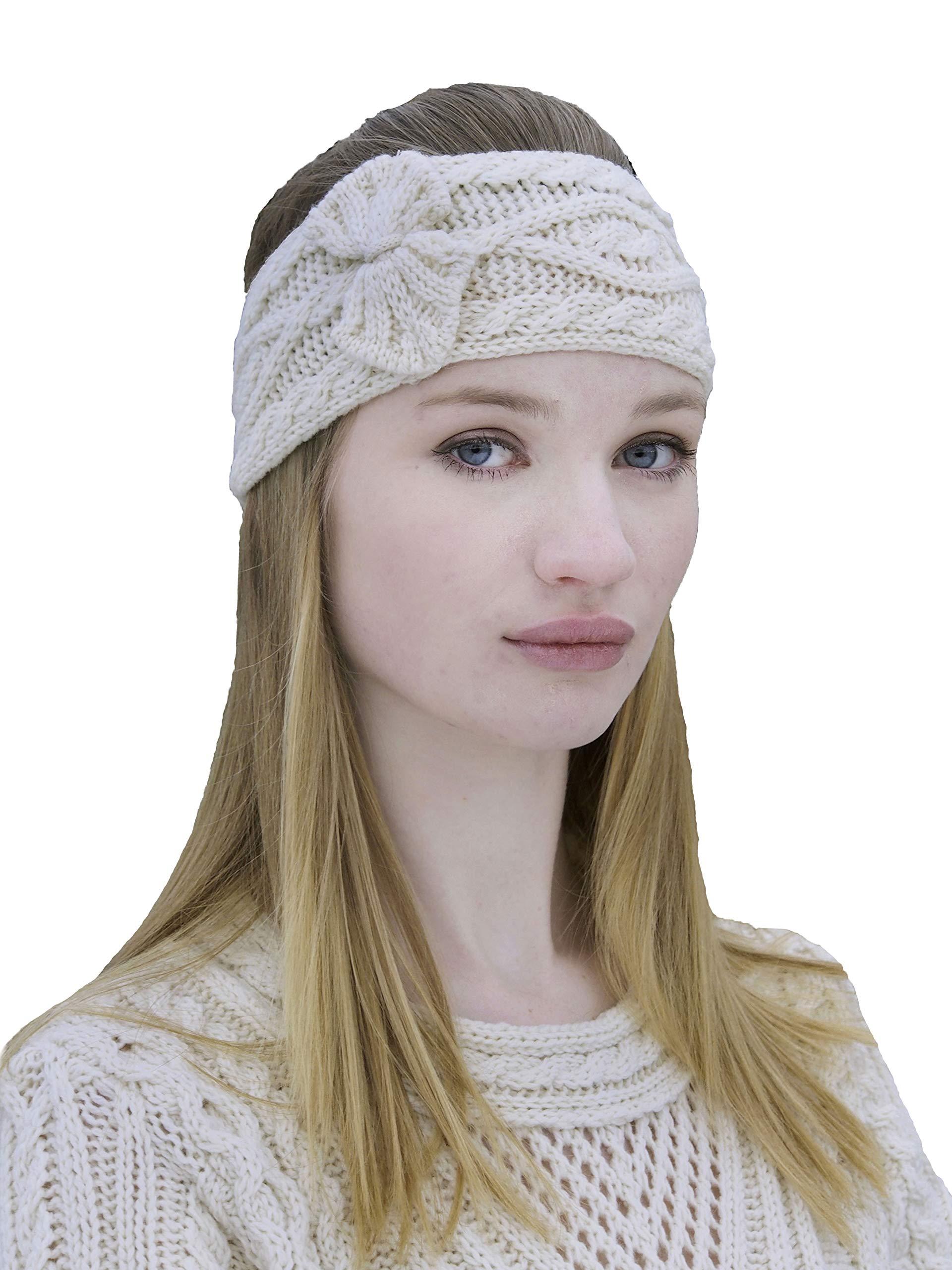 Aran Crafts Headband (100% Merino Wool) One Size Natural (X4341-NAT)