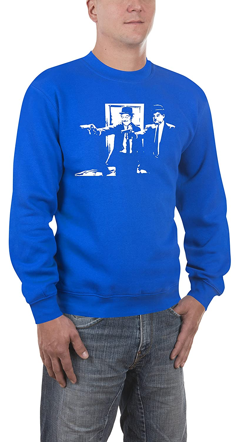 Touchlines Herren Pullover Laurel and Hardy Fiction Touchlines GmbH 421214SS