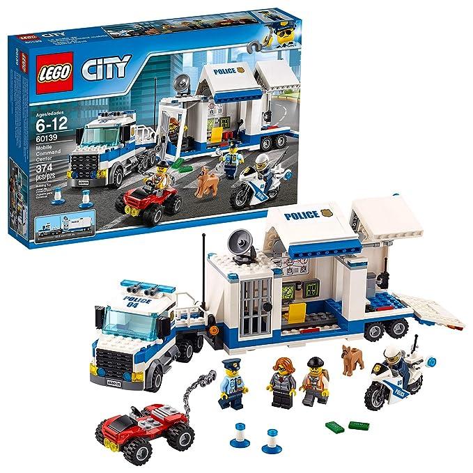 Le Mobile De Commandement 60139 Jeu Construction Poste City Lego q5L3Aj4R