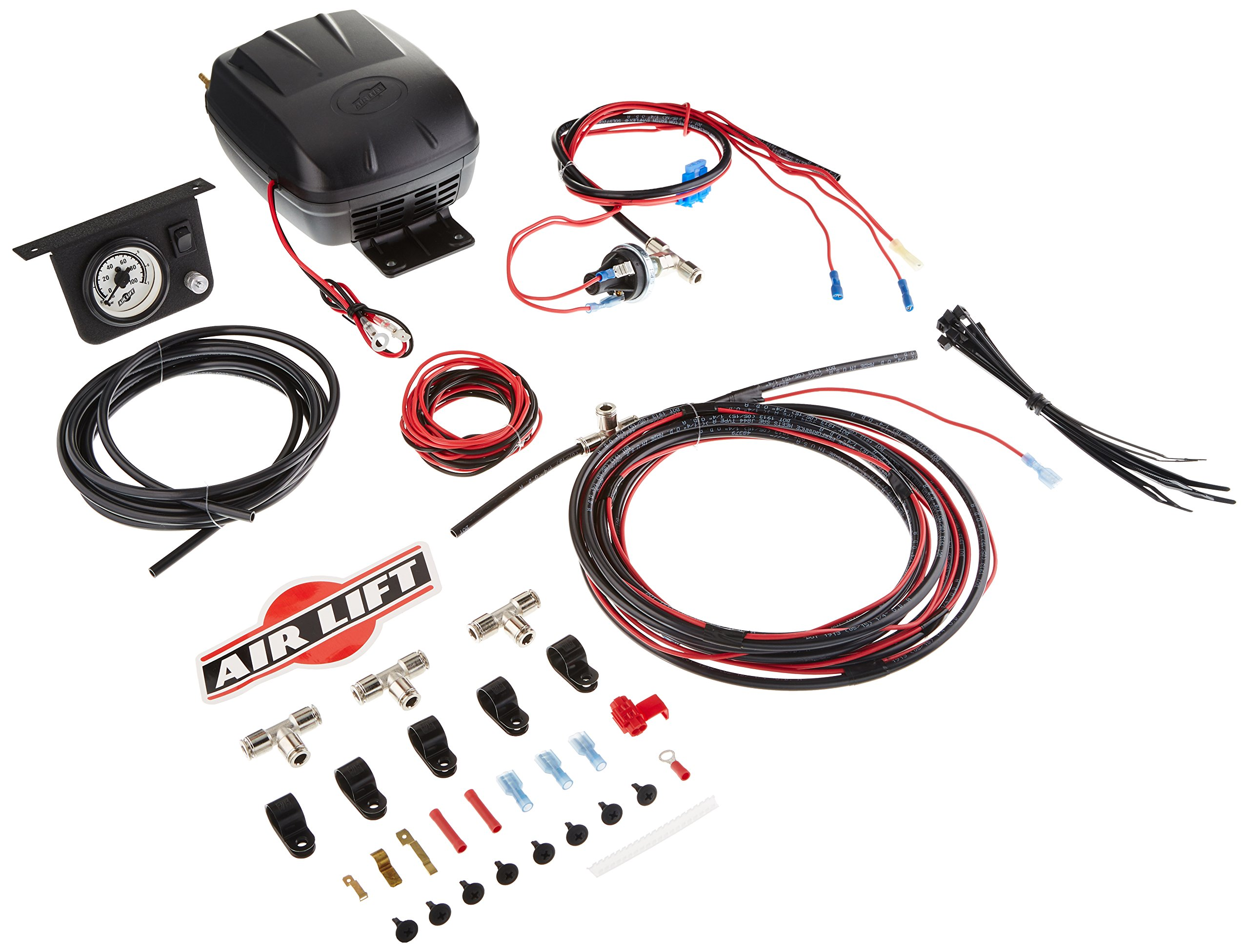 Best Rated In Automotive Performance Air Suspension Kits Helpful Boat Trailer Light Wiring Harness 4 Flat 35ft To Redo Lights Lift 25592 Load Controller Ii On Board Compressor System Product Image