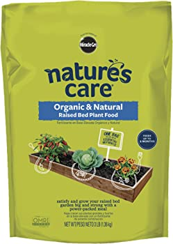Nature's Care 3 Lbs Organic Fertilizer For Vegetable Garden