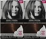 John Frieda Precision Foam Hair Colour, Light Natural Brown 6N, 2