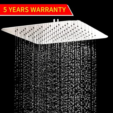 Exceptionnel Artbath Rain Shower Head, Large Square 10 Inch Ultra Thin Stainless Steel  Rainfall Shower Head