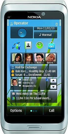 Nokia E7-00 Plata - Smartphone (10,16 cm (4