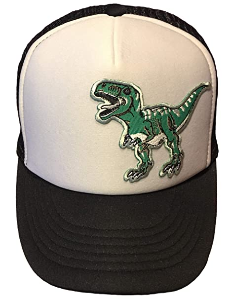 Tyrannosaurus Rex (T-REX) Dinosaur Classic Foam Trucker Cap Grey ... 9aed2dc4908c