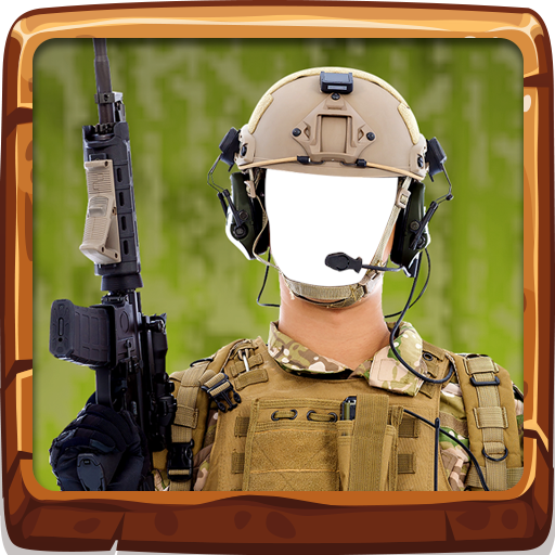 Army Photo Selfie Camera - Battlefield Photograph
