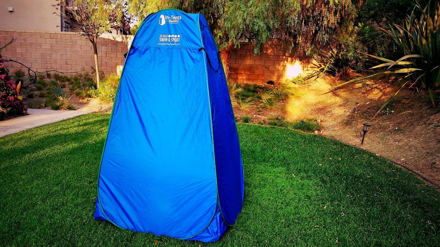 Pop-Up Changing and Shower Tent