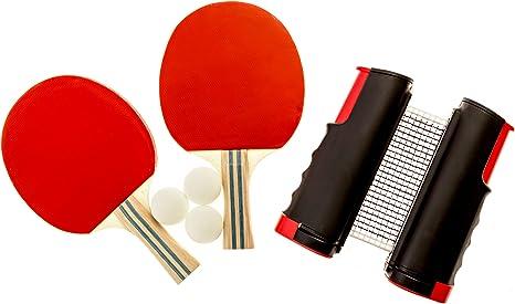 Endo Sports – Set de Tenis de Mesa Ping Pong – Palas – Red de ...