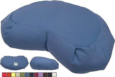 Riempito con Saggina Colori Fantastici! CalmingBreath Cuscino Zafu da Meditazione Cotone