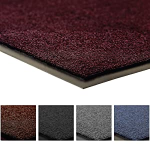 Notrax 141 Ovation Entrance Mat, for Home or Office, 3' X 6' Burgundy