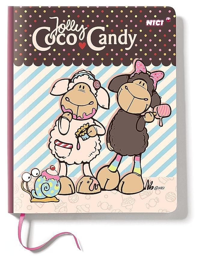 NICI - Agenda con diseño JollyCoco y JollyCandy, 15 x 18 cm ...