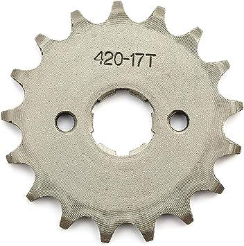 420 12 Tooth Front Engine Sprocket for 20mm OD Shaft ATV Pit Dirt Bike Gokart