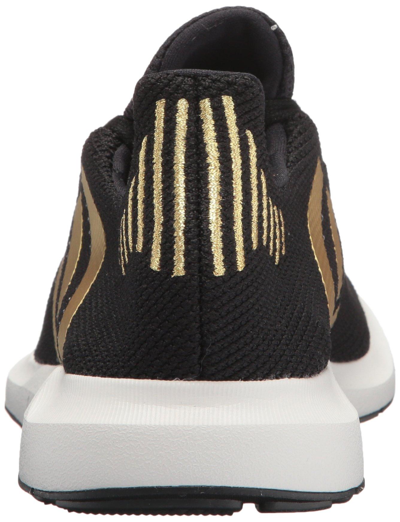 Adidas Swift Run Damen CG4145 Schwarz Gold Metallic Knit