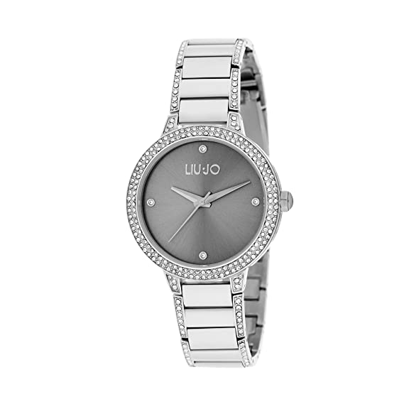 orologio solo tempo donna Liujo Brilliant trendy cod. TLJ1283  Amazon.it   Orologi 61e9a232253
