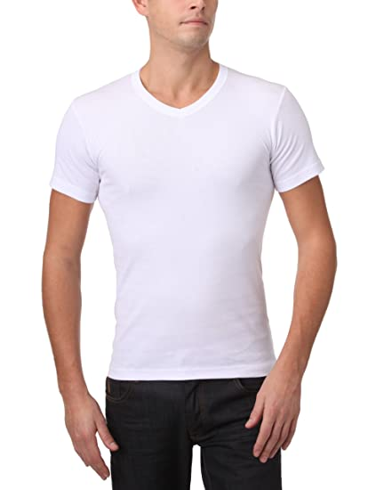 Bio - T-shirt - Homme - Blanc/Blanc - M (taille fabricant : 3)Athéna