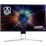 "AOC Agon AG271FZ2 27"" Gaming Monitor, FHD 1920x1080, Freesync, 240Hz, 0.5ms, Quickswitch Keypad, Ergonomic Stand, 4-Yr…"