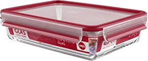 Clip & Close Glass Rectangle Storage Container