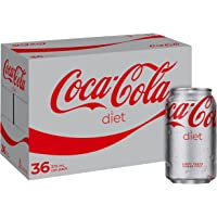 Coca-Cola Diet Soft Drink, 13500 ml, 36 Count (Packaging may vary)