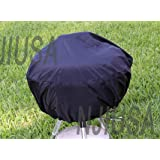 "BBQ Grill Cover w/ drawstring fits Weber Jumbo Joe Gold 18"" tabletop model :New by WW shop"