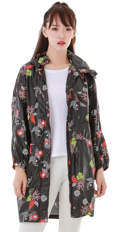 Style 3 Haoohu Women's Lightweight Hooded Outdoor Jacket Windbreaker