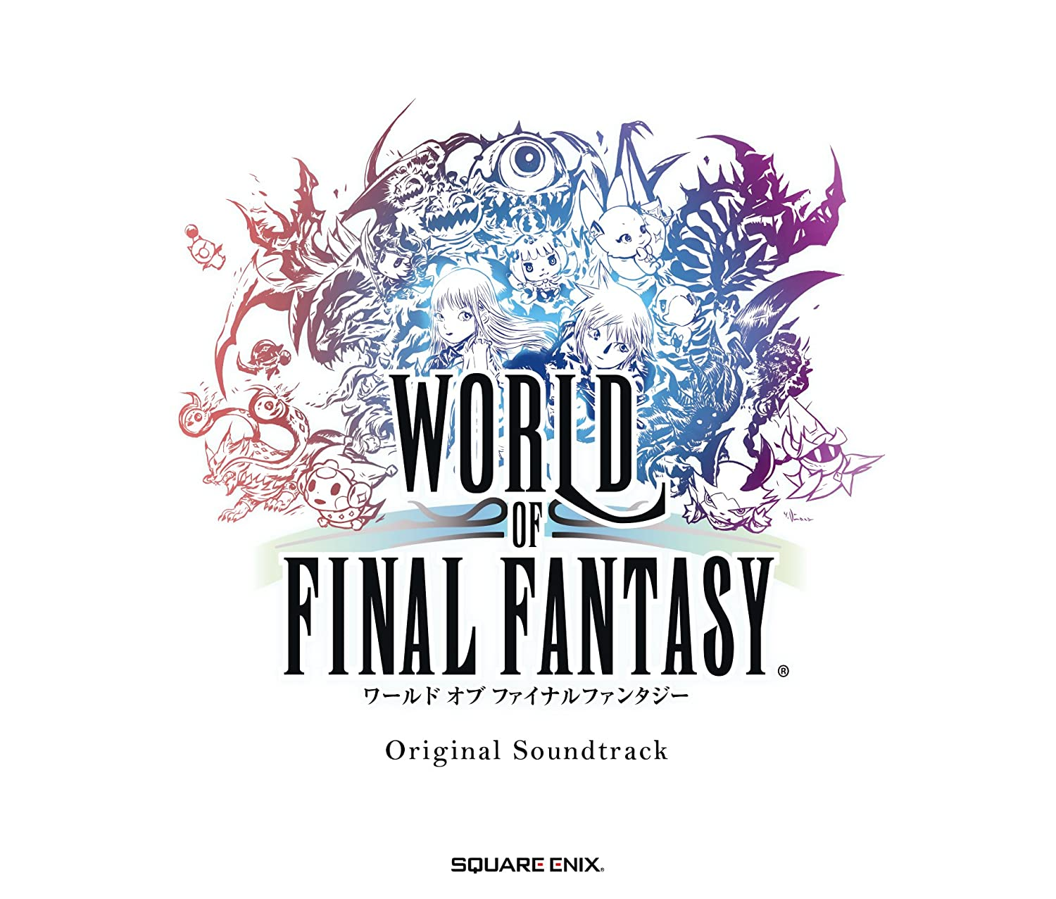[Album] WORLD OF FINAL FANTASY Original Soundtrack (2016.11.02/MP3/RAR)