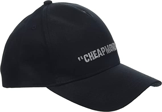 Cheap Monday Cm Baseball Cap Cheap Review Gorra de b/éisbol para Hombre
