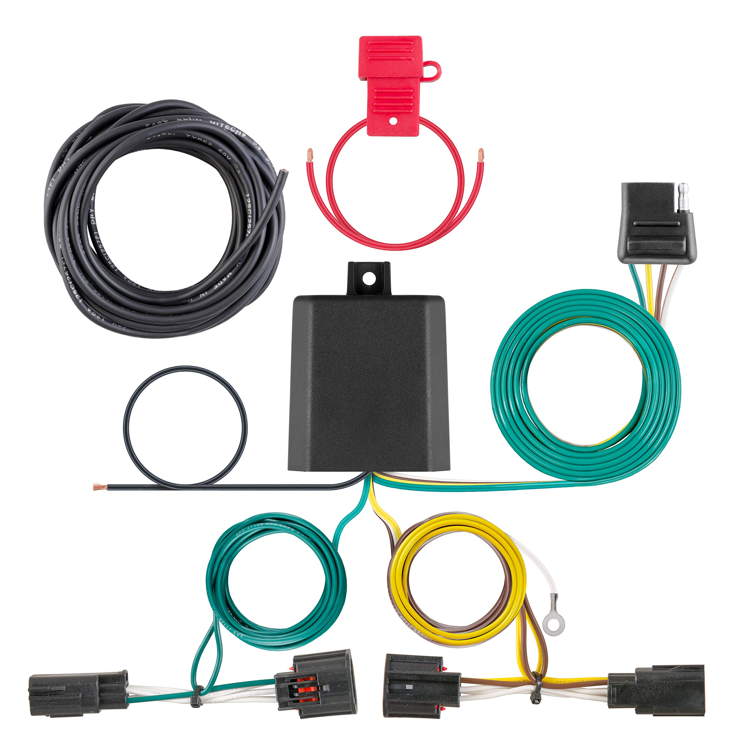 Utility Trailer Light Wiring Diagram And Required Parts Etrailercom