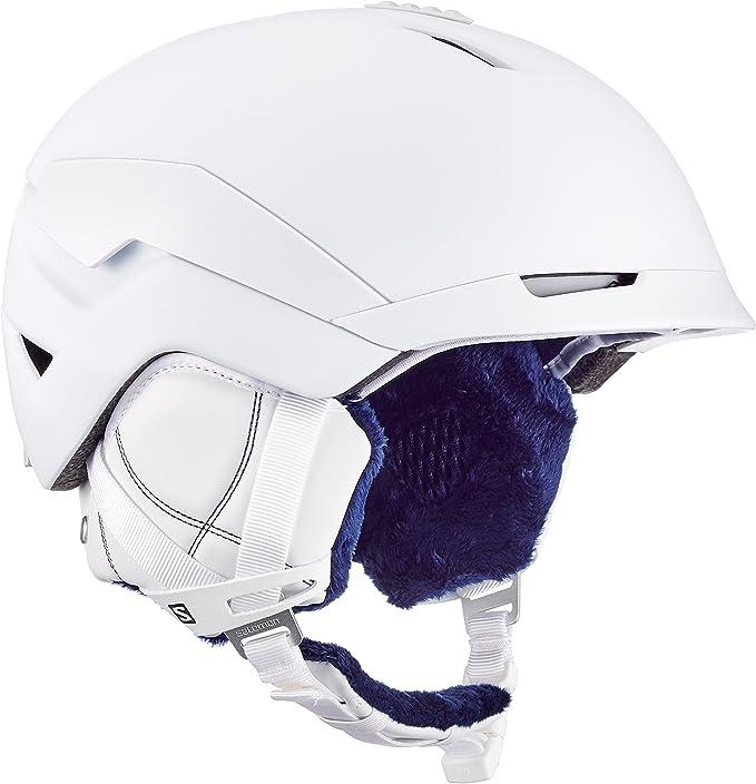 Salomon Damen Quest W Ski und Snowboardhelm, Custom Air, EPS 4D Innenschaum, L39036800