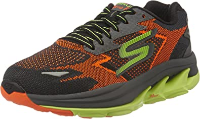 Skechers - Zapatillas para hombre morado Orange/Lime 7 M UK ...