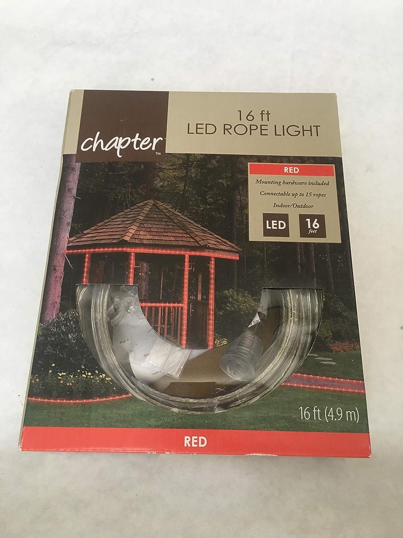 Red 16 ft LED Rope Light