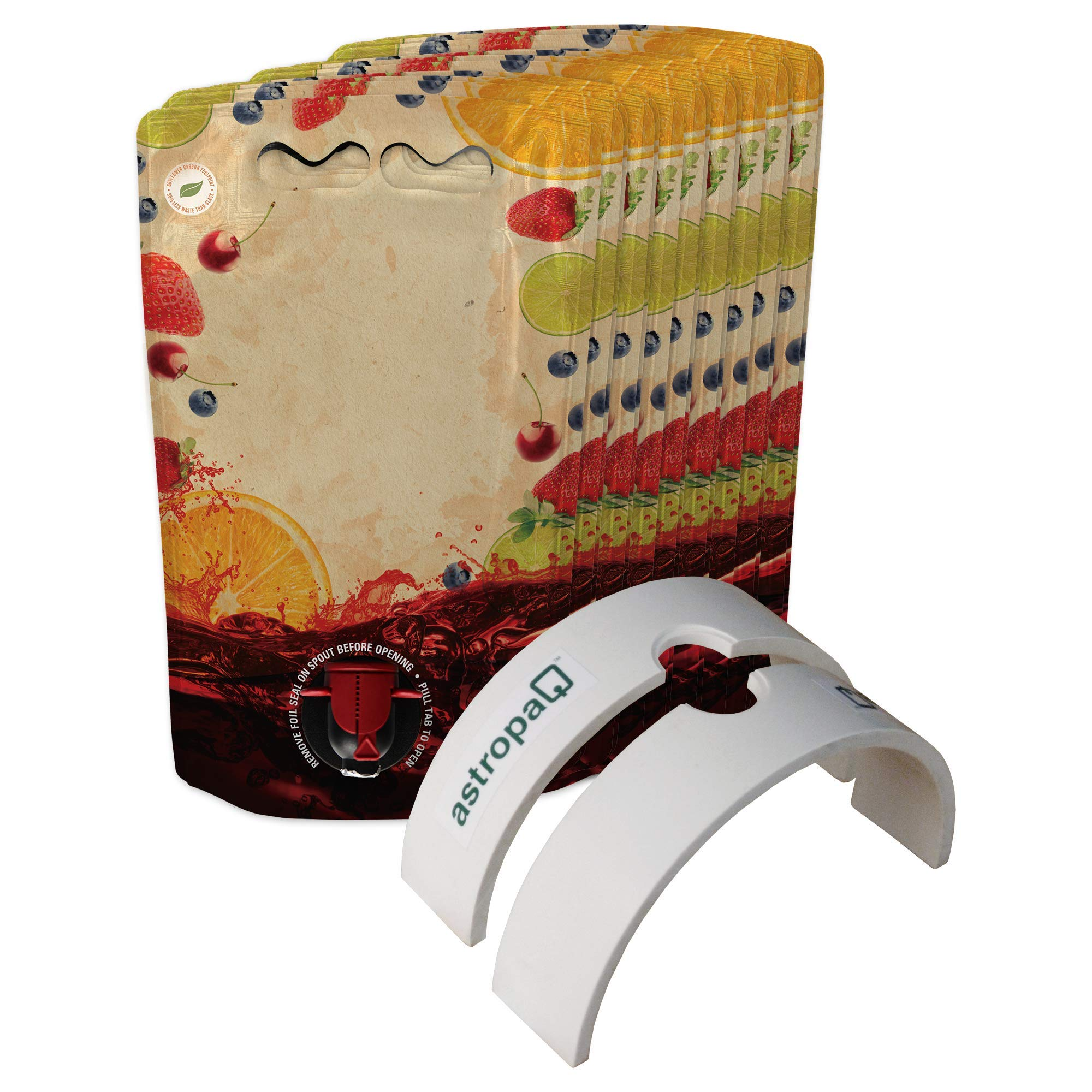 1.5L Sangria Pouch Storage and Dispensing Starter Kit - Everything You Need to Easily Bottle and Store Your Sangria in Convenient and Easy to Carry Pouches (15 x 1.5L Sangria Pouches)