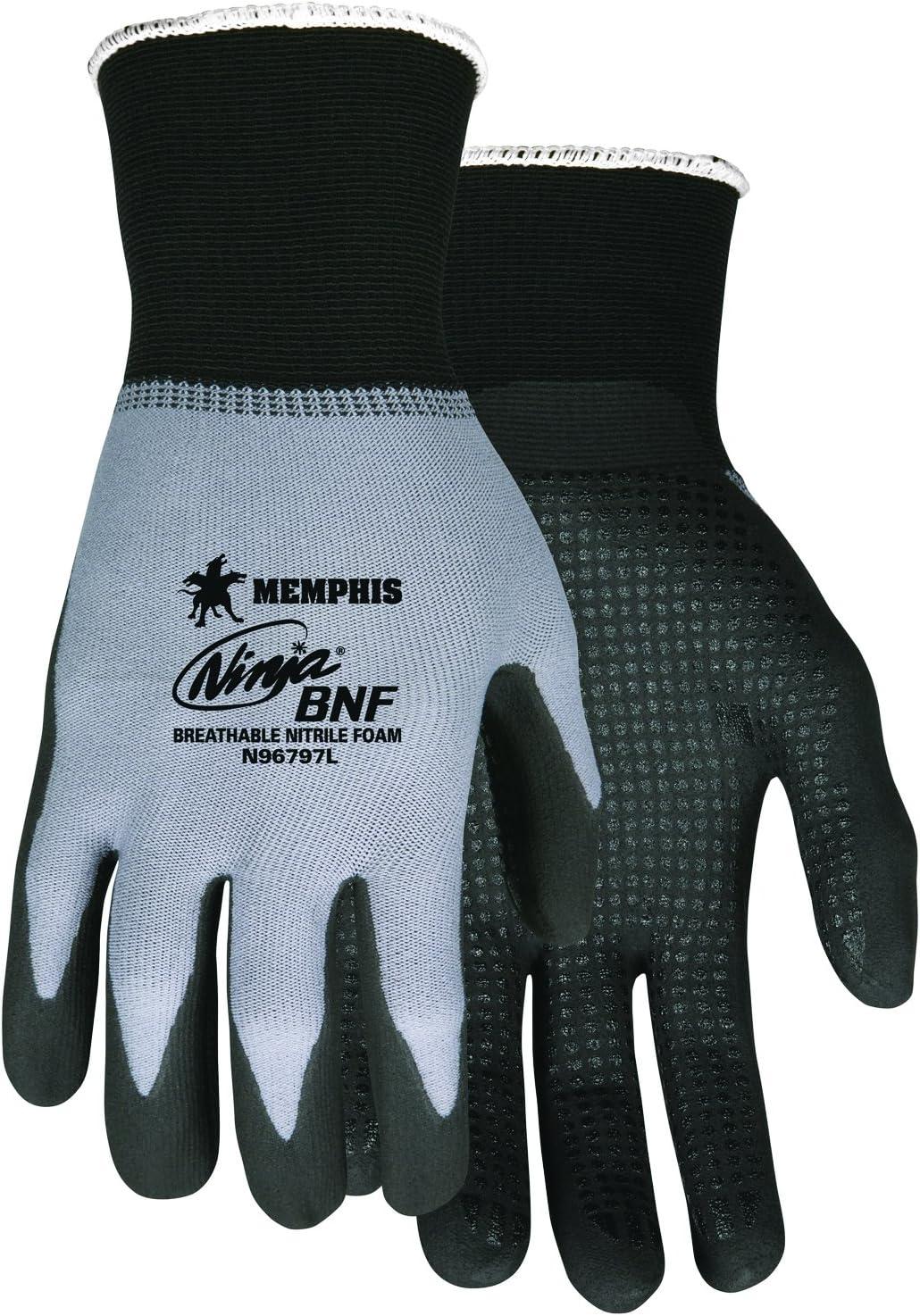 MCR Safety N96797M Ninja BNF Gloves, Medium, 1-Pair