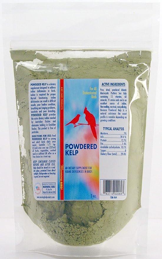 Morning Bird Powdered Kelp, Nutritional Supplement