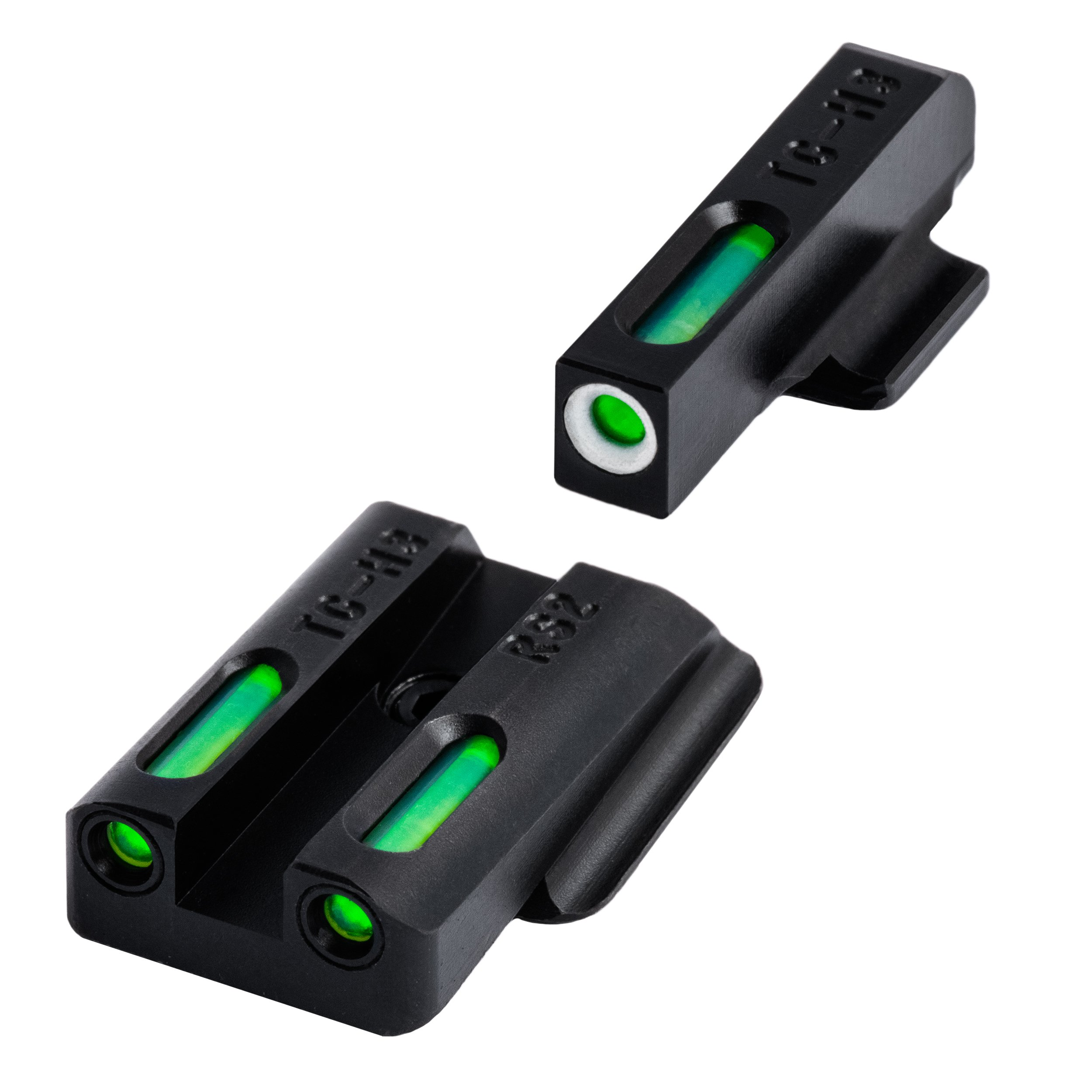 TRUGLO TG13RS2A Brite-Site TFX Handgun Sight for Ruger LC Set, Black
